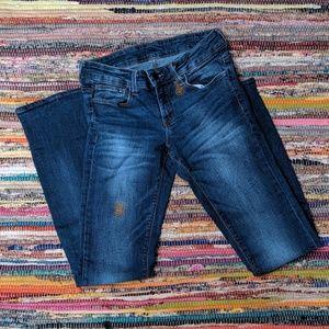 Zara Basic Blue Skinny Jeans Size 8 0171